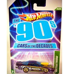 Hot Wheels Cars of the Decades 1990's Pontiac Firebird NHRA Pro Stock Race Car