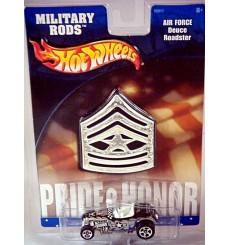 Hot Wheels Military Rods - USAF Ford Deuce Roadster