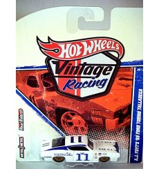 Hot Wheels Vintage Racing AJ Foyt 1969 Ford Torino Talladega