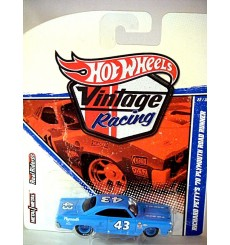 Hot Wheels Vintage Racing Seires - Richard Petty 1970 Plymouth Road Runner NASCAR Stock Car