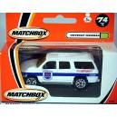 Matchbox Chevy Subuarban Wentworth Fire Truck