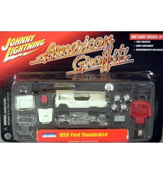 Johnny Lightning Diecast Model Kits - American Graffiti Suzanne Somers 1956 Ford Thunderbird