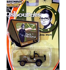 Matchbox Collectibles - Jack Osbourne Military Jeep