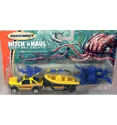 Matchbox Hitch and Haul Set - Land Rover Freelander and Whitewater Raft