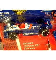Matchbox Indy 500 Series - Closest Finish Ever Set - Al Unser Jr and Scott Goodyear