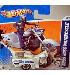 Hot Wheels - Longmont Police Boss Hoss Motorcycle - Trike