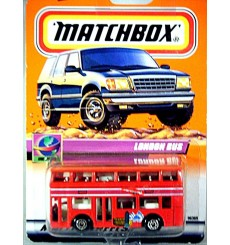 Matchbox - Leyland Titan London with Concorde Ads