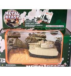 Golden Wheels Metal Beast Military Series - German Panther Tank
