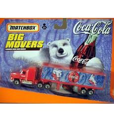 Matchbox Big Movers - Coca-Cola MACK CH600 Delivery Truck