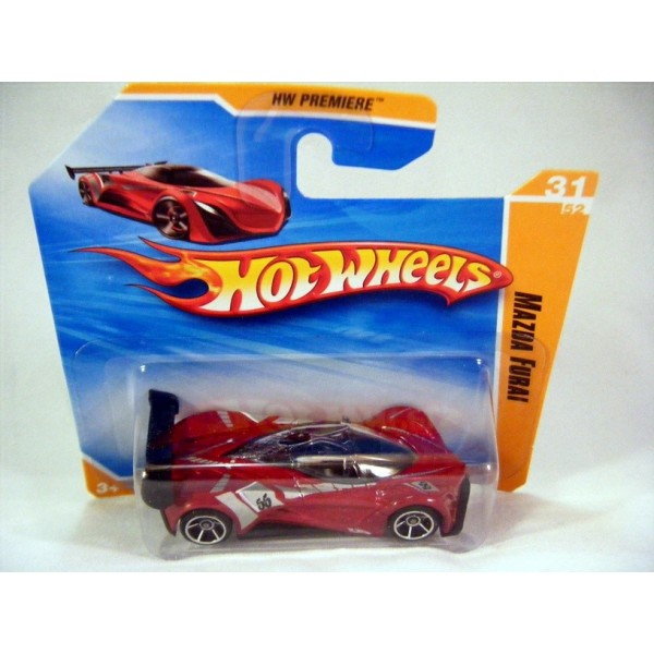 Hot Wheels Mazda Furai Supercar On Hw Premiere Short Card Global