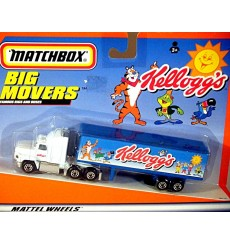 Matchbox Big Movers - Ford Aeromax Kellogg Truck