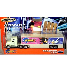 Matchbox Convoy Series - Asada Tractor Cab with Sonic X Box Trailer