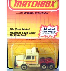 Matchbox  Scania Truck Cab