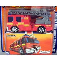 Matchbox Superfast Best of British Dennis Ladder Fire Truck