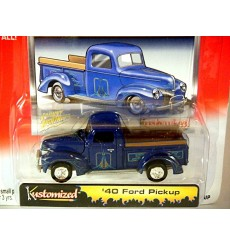Johnny Lightning Kustomized 1940 Ford Pickup Truck