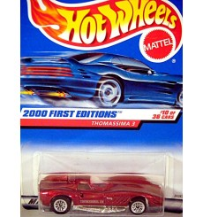 Hot Wheels 2000 First Edition Series - Thomassima III