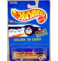 Hot Wheels Limited Edition Golden 1959 Cadillac Eldorado