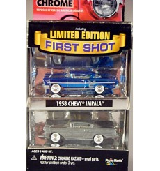 Johnny Lightning First Shots - American Chrome - 1958 Chevrolet Impala