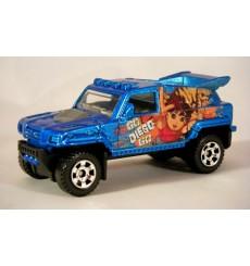 Matchbox - Go Diego Go Ridge Raider Offroad 4x4 Race Truck