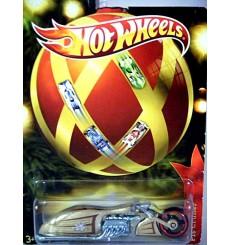 Hot Wheels Holiday Rods - Pit Cruiser - Custom Motorcycle