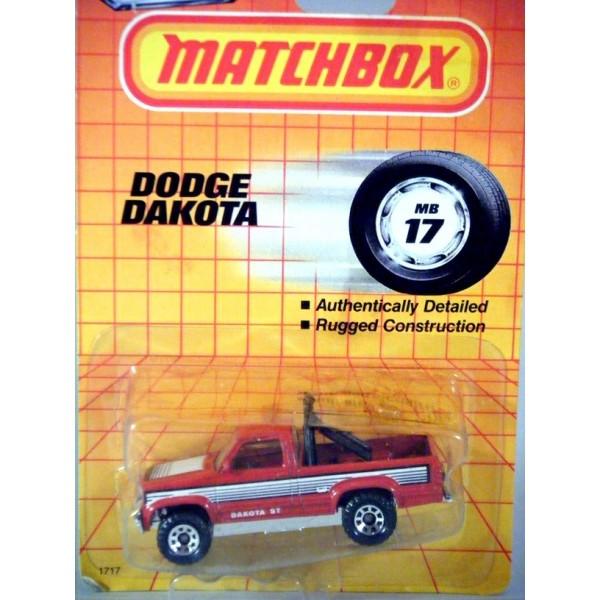 Matchbox Dodge Dakota Pickup Truck on Matchbox Dodge Dakota