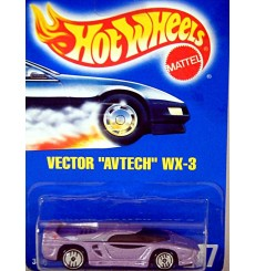 Hot Wheels Vector Avtech WX-3 Supercar