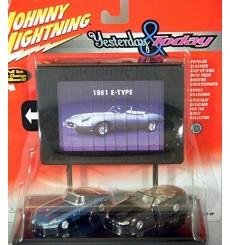 Johnny Lightning - Yesterday & Today Jaguar Set
