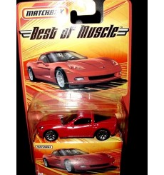 Matchbox Best of Muscle Chevrolet Corvette C6 Coupe