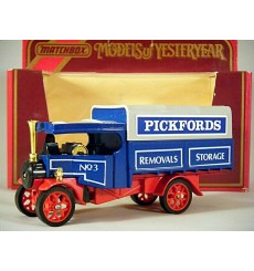 Matchbox Models of Yesteryear - 1922 Pickford's Foden Steam Wagon