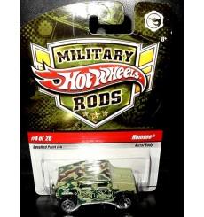 Hot Wheels Military Rods HumVee