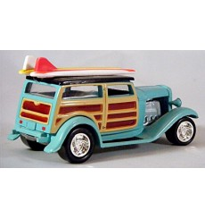 Johnny Lightning Surf Rods - Finks Speedwagon Model A Ford Woody