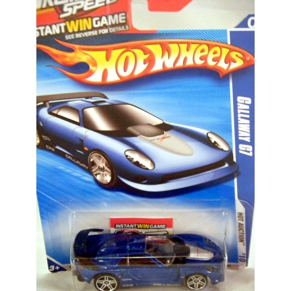 Hot Wheels Keys To Speed Game Callaway Supercar Global