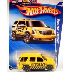 Hot Wheels Keys to Speed Game Cadillac Escalade Taxi Cab