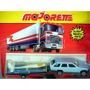 Majorette - Mercedes-Benz 300 Station Wagon and Glider Set