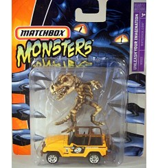 Matchbox - Monsters Series Chevrolet Silverado SS Pickup Truck