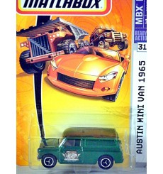 1965 Austin Mini Panel Van Chase Car