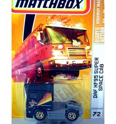 Matchbox DAF XF95 Super Space Cab