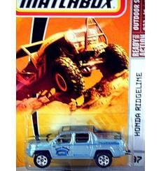 Matchbox Honda Ridgeline Sport Fishing Pickup Truck