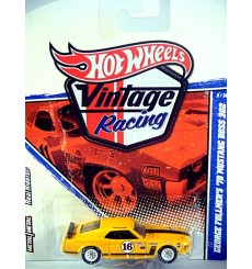 Hot Wheels Vintage Racing Series - George Fullmer 1970 Boss 302 Ford Mustang Race Car