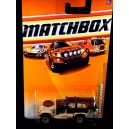 Matchbox Sahara Survivor Military 4x4 2010 Blister