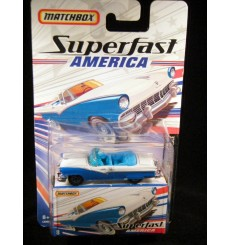 Matchbox Superfast America 1955 Ford Fairlane Sunliner Convertible