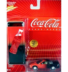 Johnny Lightning Acura NSX with Coca Cola Tin