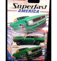 Matchbox Superfast America Chevrolet Camaro SS-396 Convertible