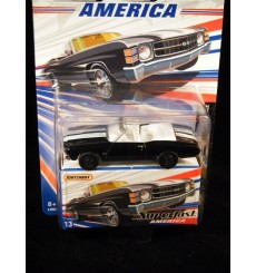 Matchbox Superfast America 1971 Chevrolet Chevelle Convertible