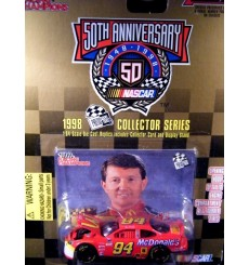Racing Champions 1998 Press Pass Bill Elliott McDonalds Ford Thunderbird