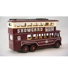 Lledo Promo Model - 1931 AEC Renown Double Decker Bus - Showgard Mounts