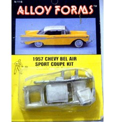 Alloy Forms - HO Scale 1957 Chevrolet Bel Air Kit