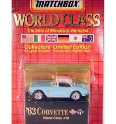 Matchbox World Class Series - 1962 Chevrolet Corvette