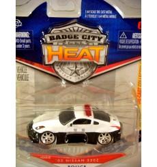Jada Badge City Heat - Nissan 350Z Police Car