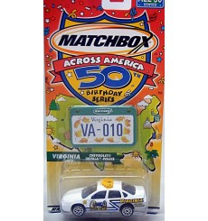 Matchbox Across America Series - Virginia State Police Chevrolet Impala
